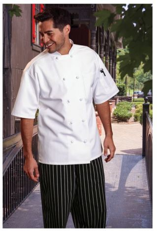 Short Sleeve Chef Coat
