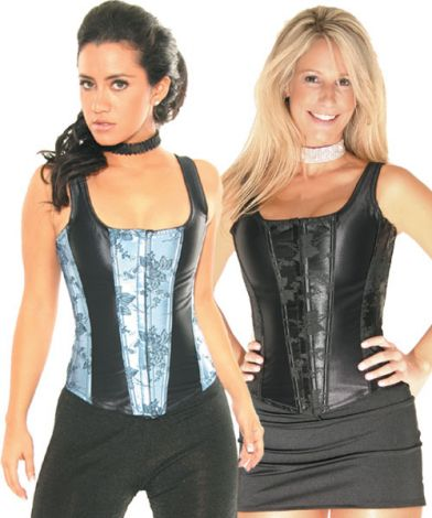 Floral Hook & Eye Corsets