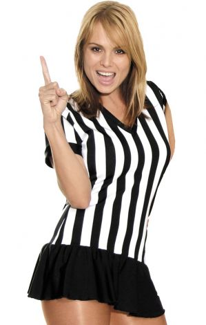 Referee V-Neck Dress