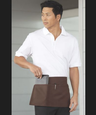 Waist Apron with 2 Pockets