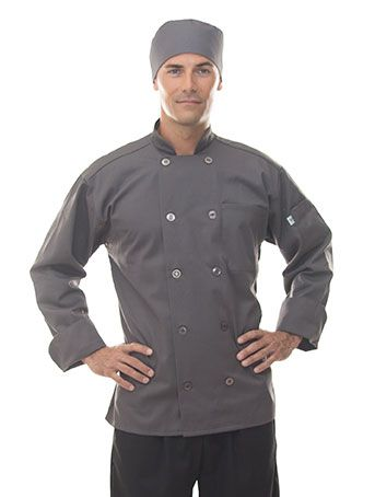 Slate Grey Chef Coat