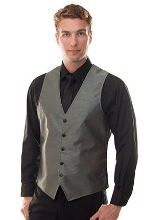 Gun Metal Deva Slim Fit Vest