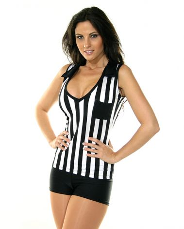 Referee V-Neck Top