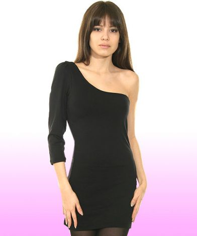 One Shoulder Hostess Dress