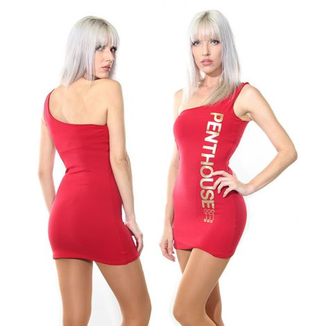 Penthouse Dress Back and Front View