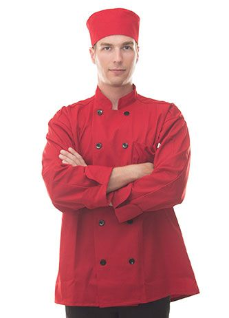 Red Chef Coat