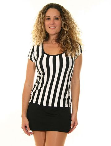 Referee Scoop Neck Top