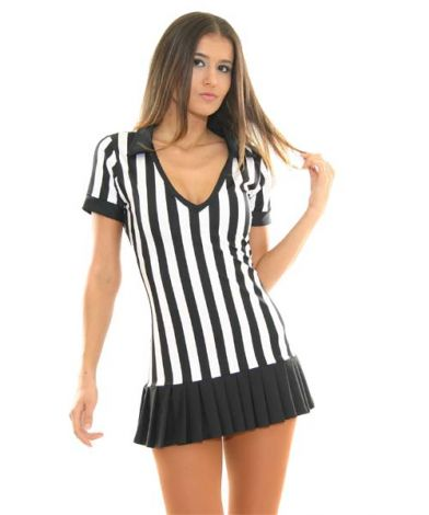 Referee V Neck Dress