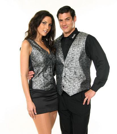 Silver Metallic Companion Vests